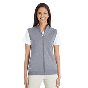 adidas Women's Full Zip Club Vest, Size Large